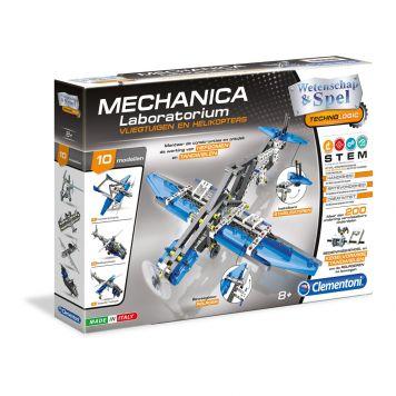Mechanica Vliegtuig En Helikopter Clementoni
