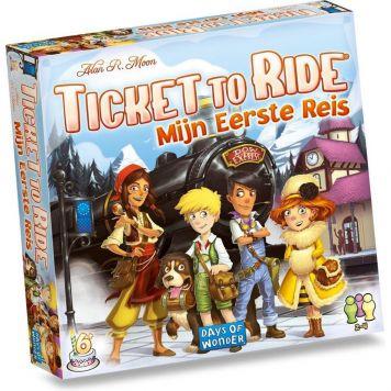 Spel Ticket To Ride Mijn Eerste Reis