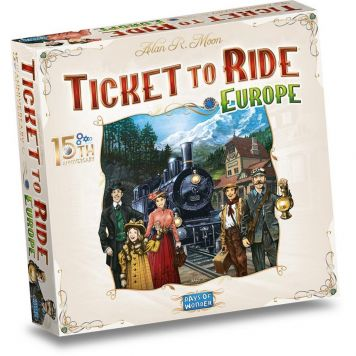 Spel Ticket to Ride Europe 15th Anniversary