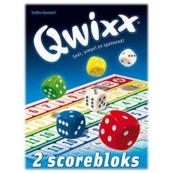 Spel Qwixx Scoreblokken