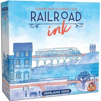 Spel Railroad Ink Blauw