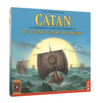 Spel Catan Zeerovers