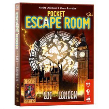 Spel Pocket Escape Room Het Lot Van Londen