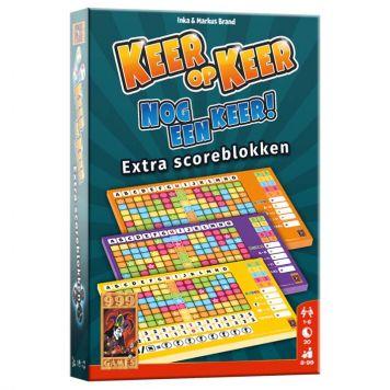 Spel Keer Op Keer Scoreblok 3 Stuks Level 2,3,4