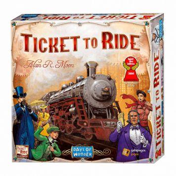 Spel Ticket To Ride Usa