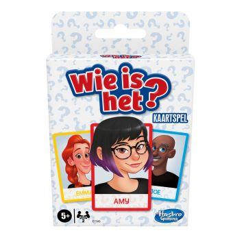 Spel Wie is het? kaartspel