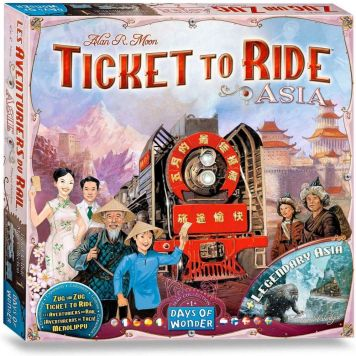Spel Ticket To Ride - Asia