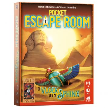 Spel Pocket Escape Room: De Vloek Van De Sfinx