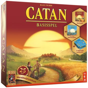 Spel Catan 25 Jaar Wereldwijd Jubileum