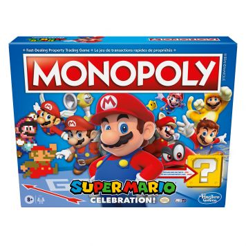 Spel Monopoly Super Mario Celebration