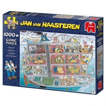 Jan Van Haasteren Puzzel Cruiseschip 1000 Stukjes