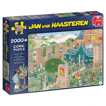 Puzzel Jan Van Haasteren The Art Market 2000 Stukjes
