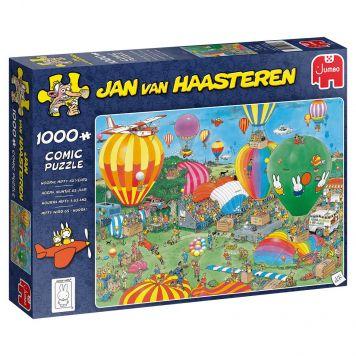Jan Van Haasteren Puzzel Hooray Miffy 65 Years  1000 Stukjes