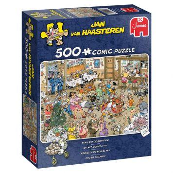 Jan Van Haasteren Puzzel Op Het Nieuwe Jaar 500  Stukjes