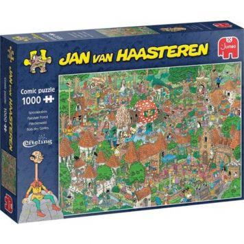 Jan Van Haasteren Puzzel Sprookjesbos Efteling 1000 Stukjes
