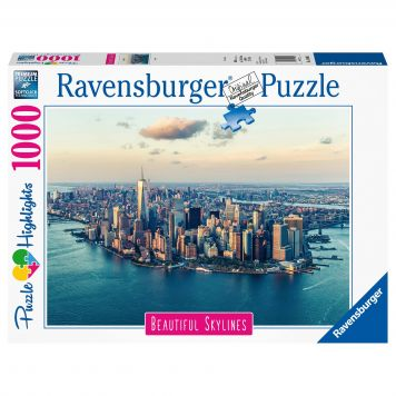 Puzzel Beautiful Sky New York 1000 Stuks