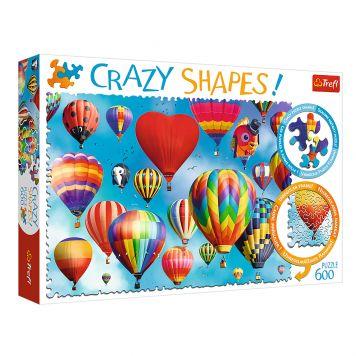 Puzzel Crazy Shapes Bonte Ballonnen 600 Stuks