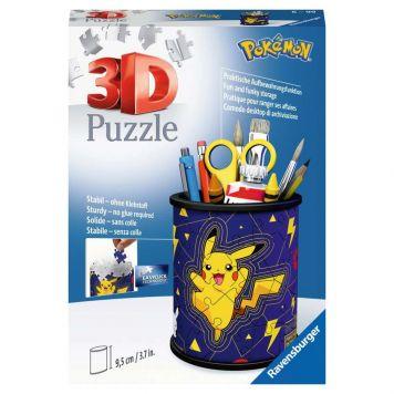 Puzzel 3D Pennenbak Pokemon Rond