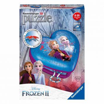 Puzzel 3D Hartendoosje Frozen 2