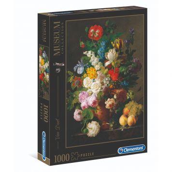 Puzzel Museum 1000 Stukjes Van Dael Bloemenvaas Clementoni