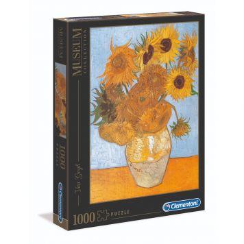 Puzzel Museum 1000 Stukjes Van Gogh Zonnebloemen Clementoni