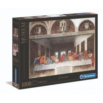 Puzzel Museum 1000 Stukjes Da Vinci Het Laatste Avondmaal Clementoni