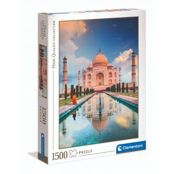 Puzzel High Quality 1500 Stukjes Taj Mahal Clementoni