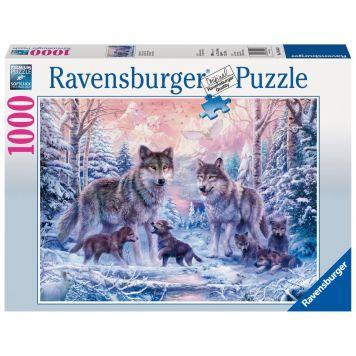 Puzzel Artische Wolven 1000 stukjes