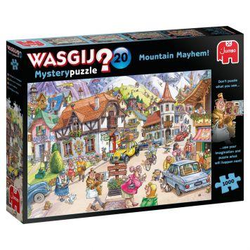 Puzzel Wasgij Mystery 20 Vakantie In De Bergen  1000 Stukjes