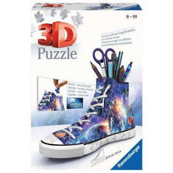 Puzzel 3D Sneaker Astronaut-Galaxy