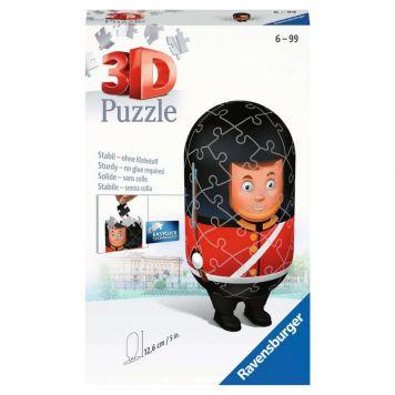 Puzzel 3D London Guard Bobby 54 Stukjes