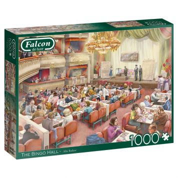 Puz Falcon The Bingo Hall 1000 Stukjes