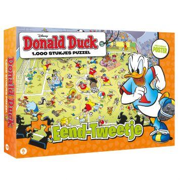 Puzzel Donald Duck Eend Tweetje 1000 Stukjes