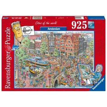 Puzzel Fleroux Amsterdam 925 Stukjes