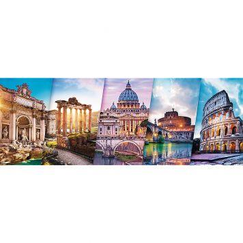 Puzzel Panorame Italie 500 Stukjes