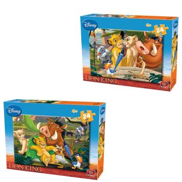 Puzzel Lion King 24 Stukjes Assorti