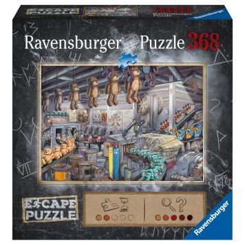 Puzzel Escape Toy Factory 368 Stuks
