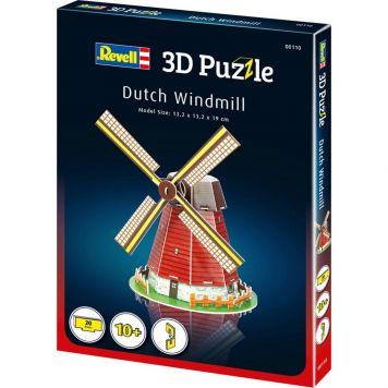 Puzzel 3D Windmolen