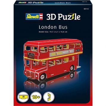 Puzzel 3D London Bus
