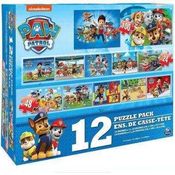 Paw Patrol Puzzel The Movie 12 Puzzle Box