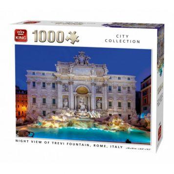 Puzzel 1000 Stukjes Fountain Rome