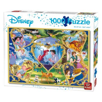 Puzzel Hearts Of Gold 1000 Stukjes