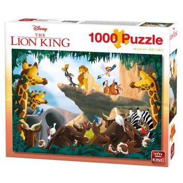 Puzzel Lion King 1000 Stukjes