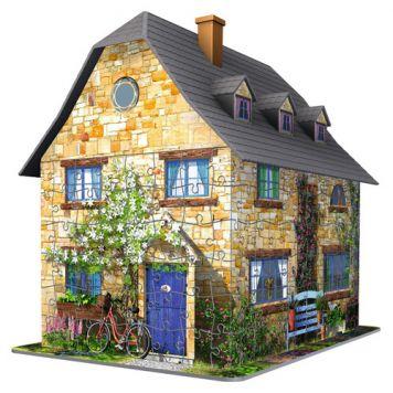 3D Puzzel Engelse Cottage