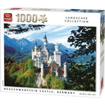 Puzzel 1000 Stukjes Neuschwanstein Germany
