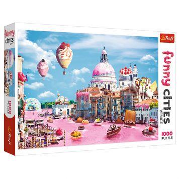 Puzzel Funny Cities Venetie 1000 Stukjes