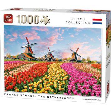 Puzzel 1000 Stukjes Zaanse Schans