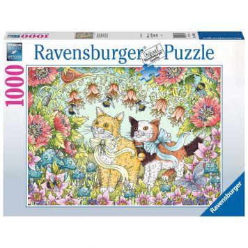 Puzzel Kattenvriendschap 1000 Stück