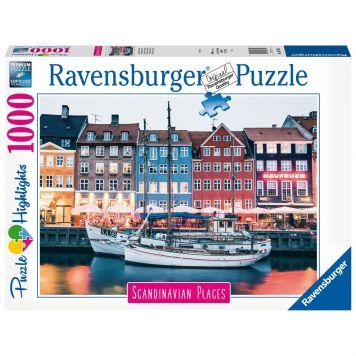 Puzzel Kopenhagen Denemarken 1000 Stuks