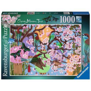 Puzzel Kersenboom In Bloei 1000 Stukjes